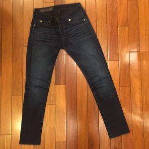 Armani Exchange Dark Wash J11 Skinny Jeans  28R